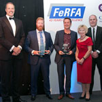 Winners of the FERFA Large Project of the Year Award